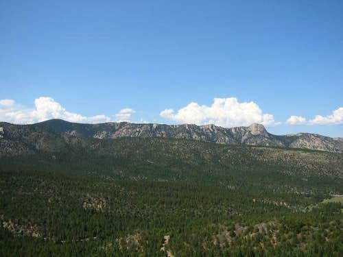 The Tooth Ridge as seen from...