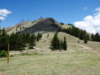The Fire Watch Tower and Antenna Farm on Mosca Peak