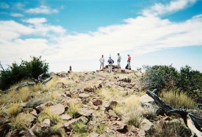 The summit of Baboquivari Peak.