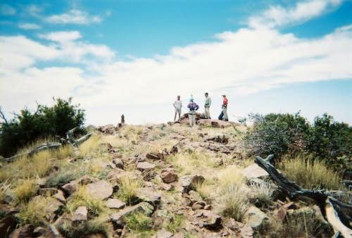 The summit of Baboquivari Peak.