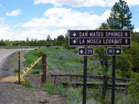 Yellow Gate and Cattle Guard