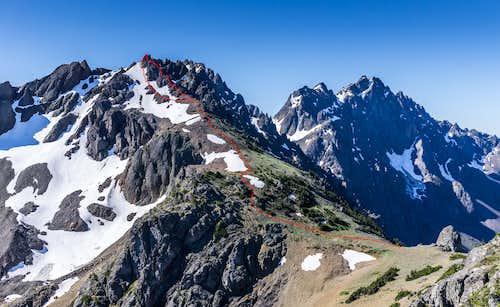 Cloudy Peak Route