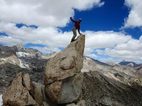 N Ridge Pinnacle