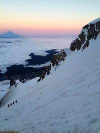 Dawn on Mt. Hood