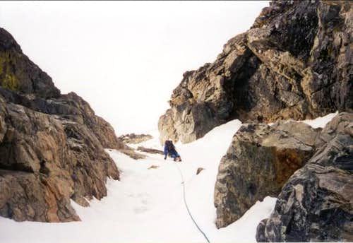 North Face Ice Couloir
