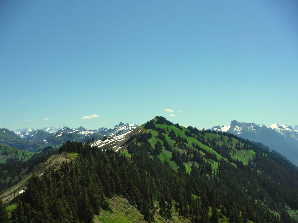 High Devde Peak from Excelsior Peak