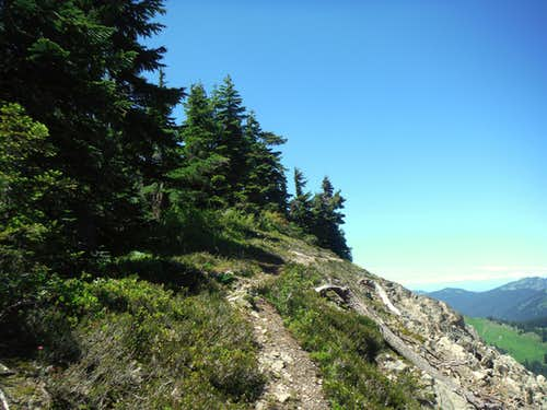 The bootpath to the summit