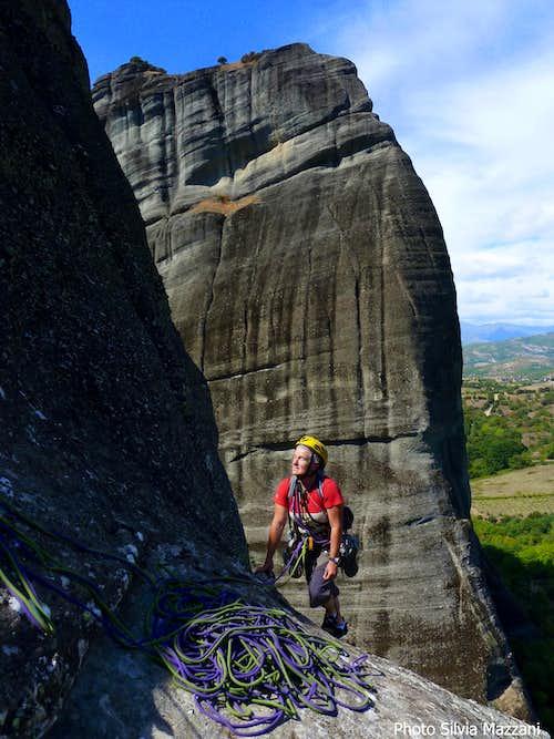 Pillar of Dreams seen from the close Kumarieskopf