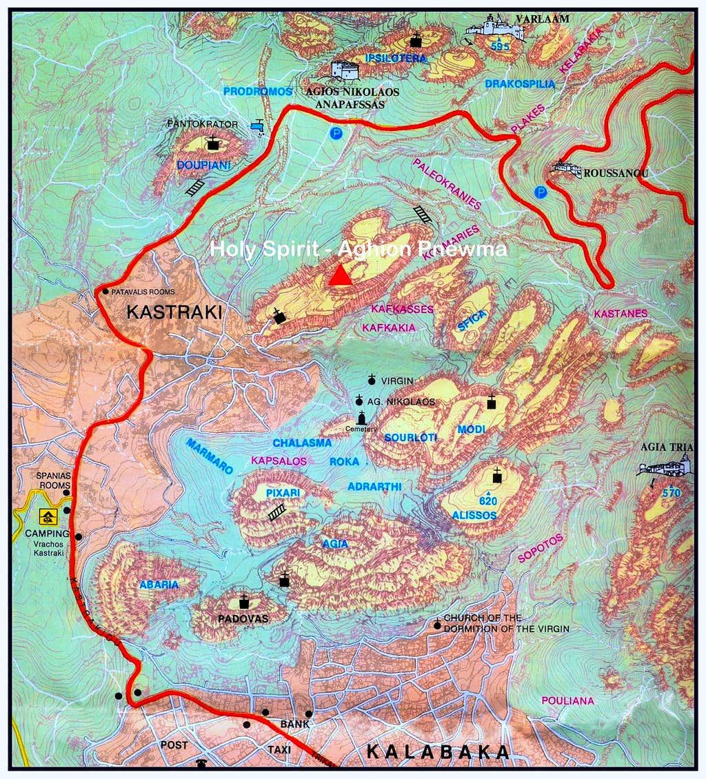 Aghion Pnéwma map