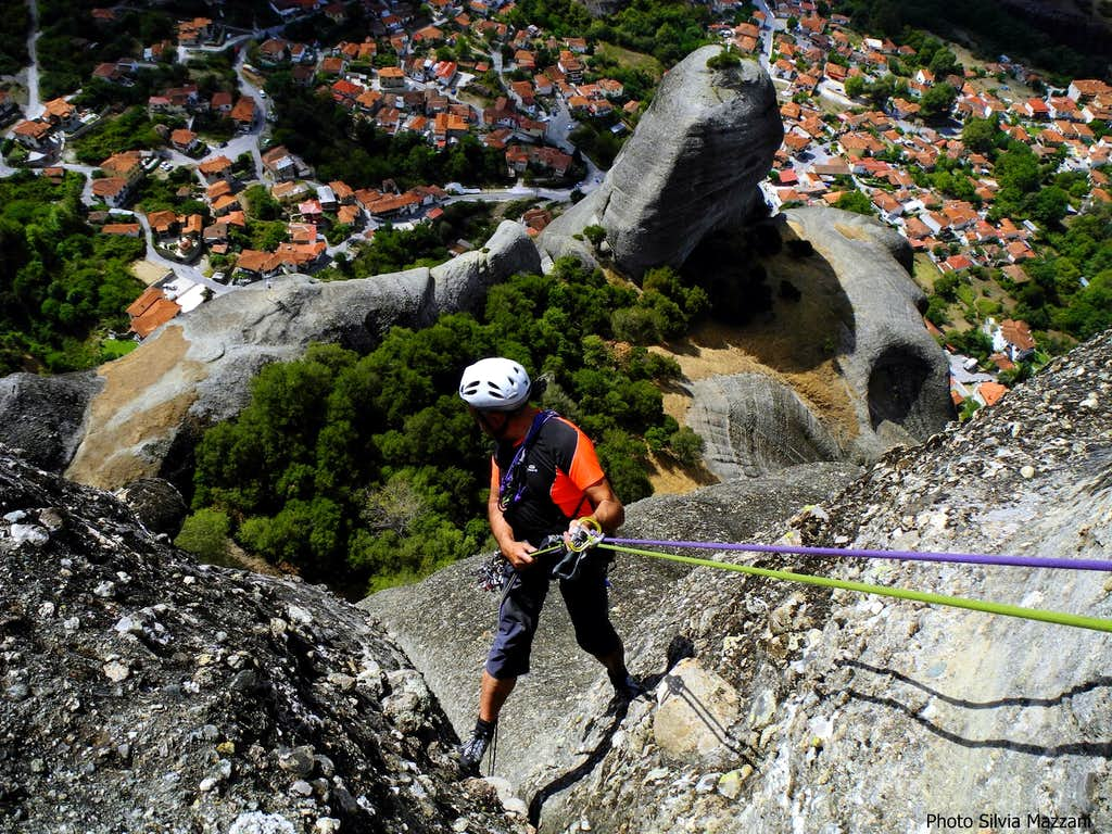 Aghion Pnéwma, startin' the first rappel