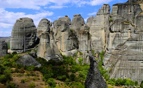 View over Meteora Western Group