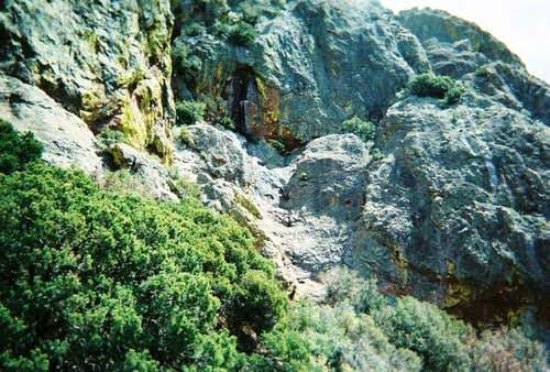A view of the third pitch.