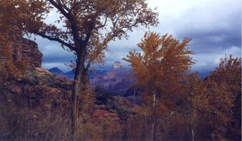 The Grand Canyon in December....