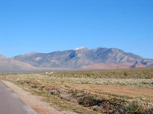 Potosi Mountain from the...