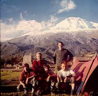 Huascaran from Musho before...