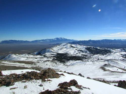 Murdock Mtn (NV) summit pic