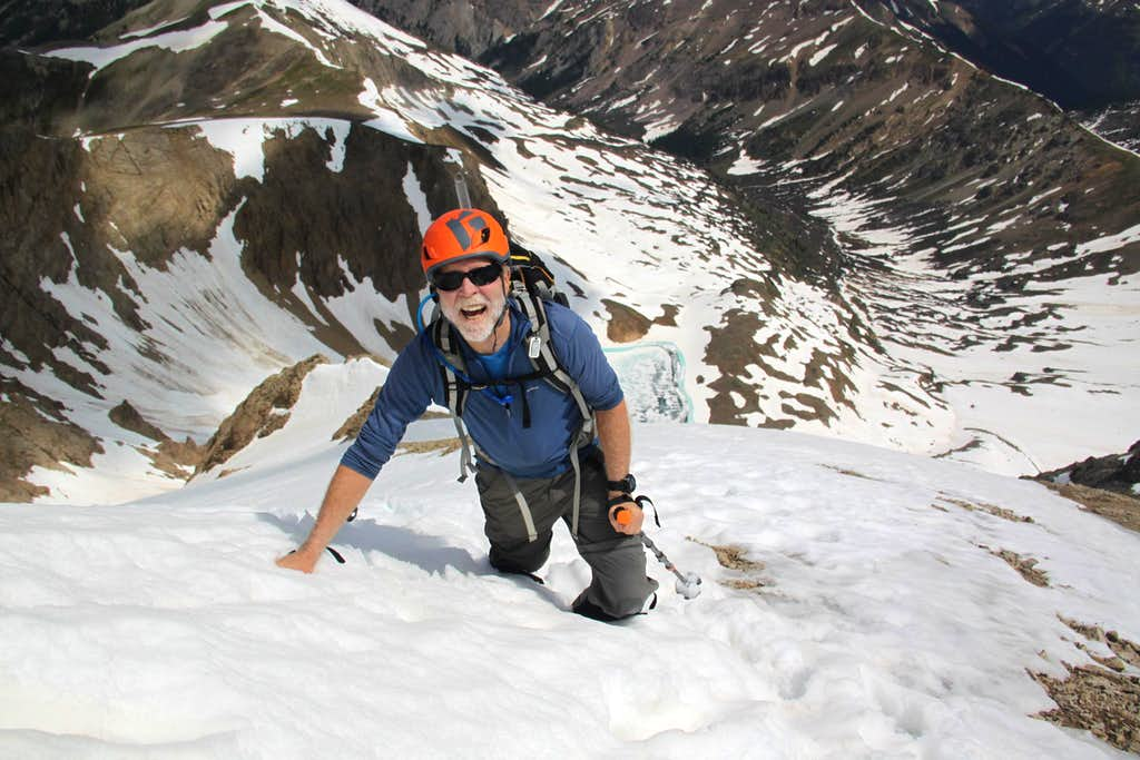 Grizzly Couloir - top