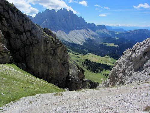 Geisler - Odle Group, with Furchetta (3030m) and Sas Rigais (3025m)