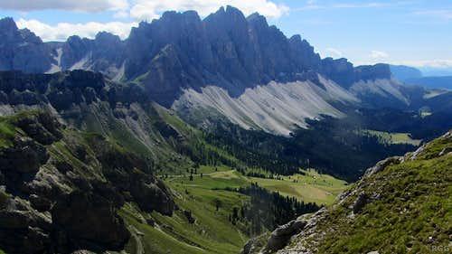 Villnöss Valley and the Geisler - Odle Group