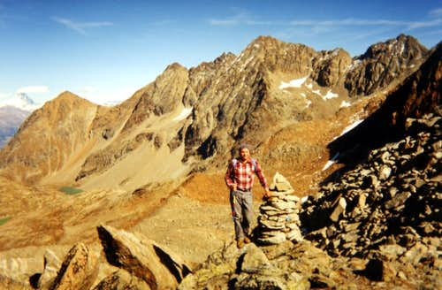 The INFINITE TRAIL of the IBEXES Col des Laures 1994