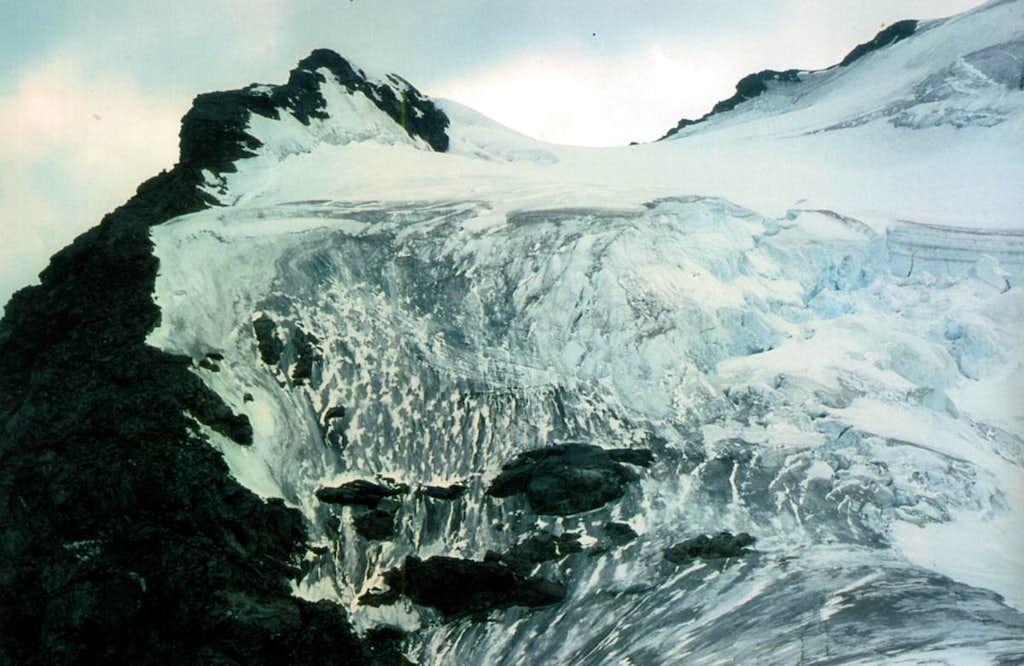 Ollomont Valley & By ... Mont Velan E-SE Ridge 1976