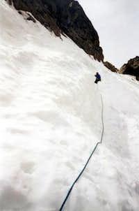 Somewhere around the steep...