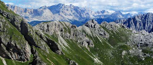 Big Dolomites panorama