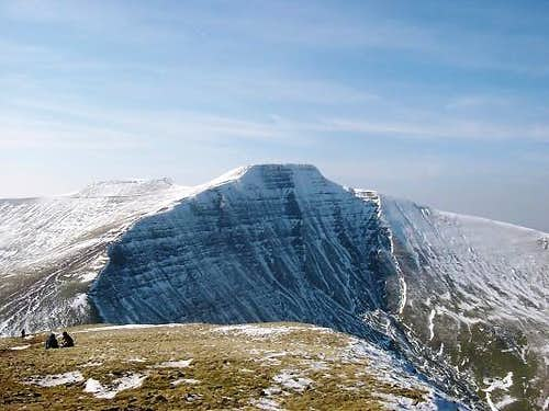 Pen y Fan from the top of...
