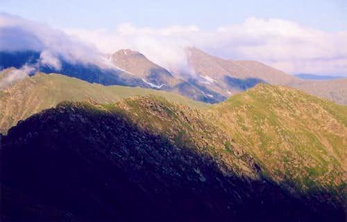 View towards Negoiu from...