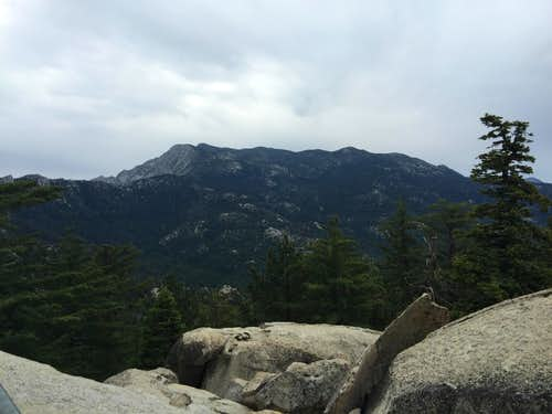 San Jacinto Peak from Black Mountain Lookout
