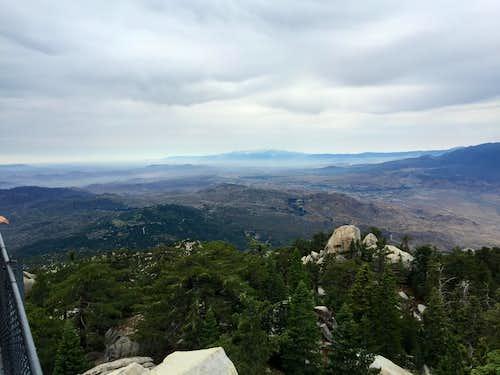 San Gabriel Mountains from Black Mountain