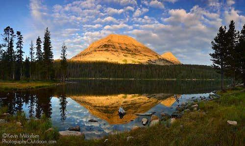 Mirror Lake at Sunrise