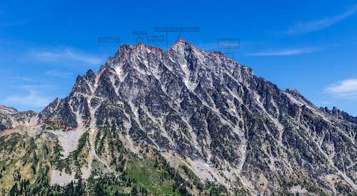 Stuart West Ridge Route