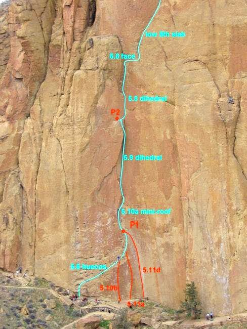Lower portion of Zebra-Zion ....