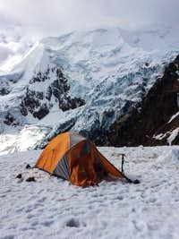 illimani high camp