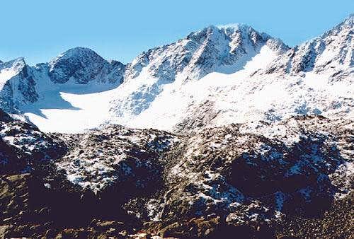 G4 Peak, Baby Glacier,...