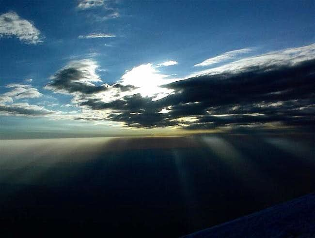 Summit image of the sky. July...
