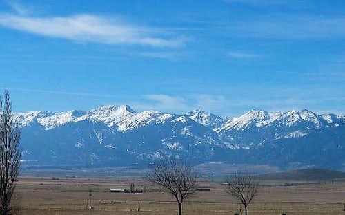Rock Creek Butte and Elkhorn Peak
