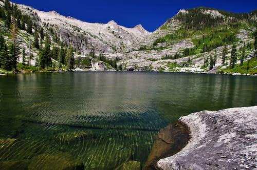 Lower Canyon Creek Lake