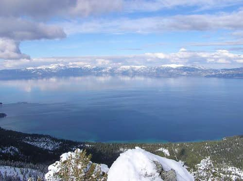 View of Lake Tahoe from the...