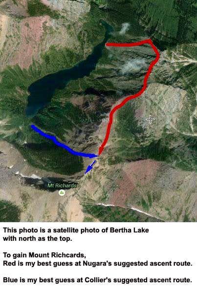 Mount Richards Routes