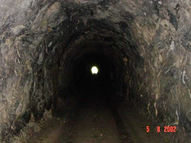 This is a 200 meter tunnel...