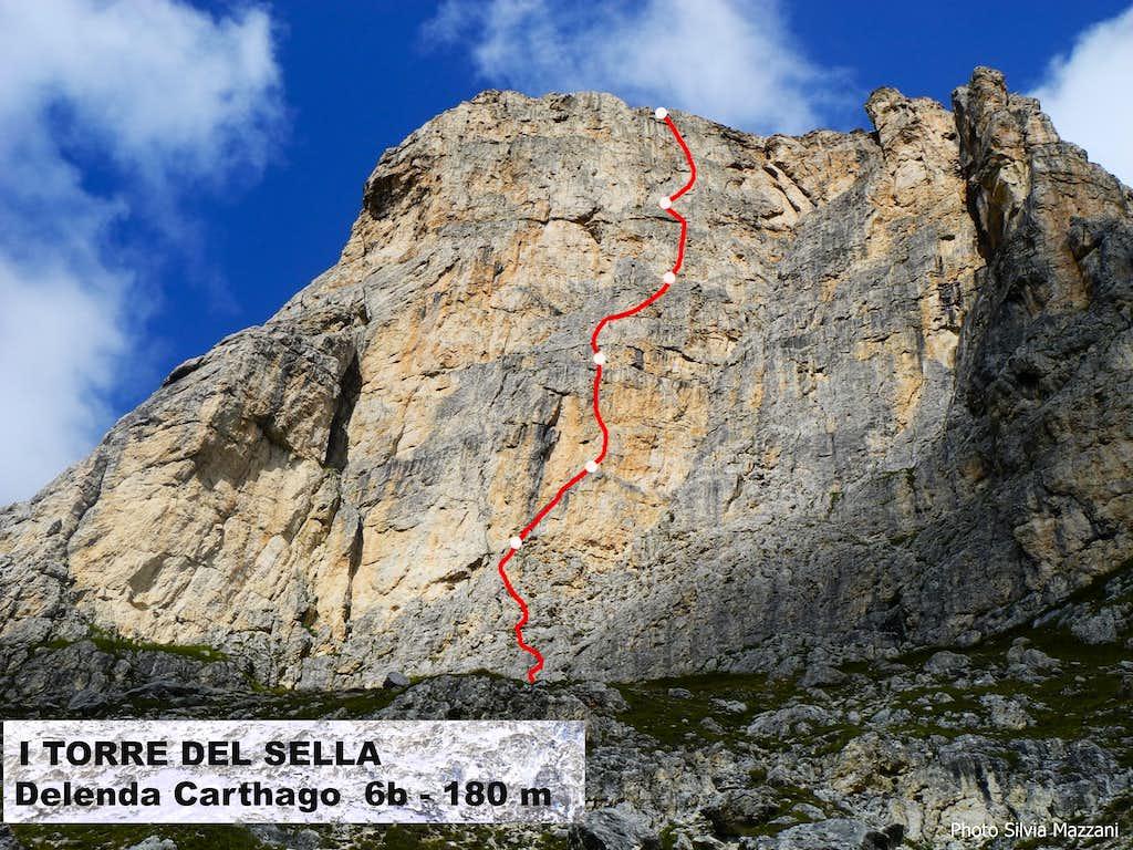 Beta of Delenda Carthago (I Torre del Sella)