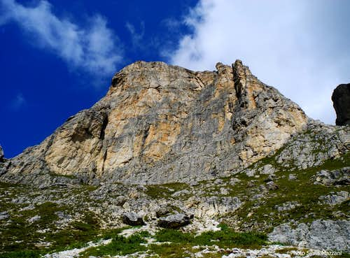 First Sella Tower South face