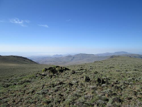 Looking north from wilderness highpoint