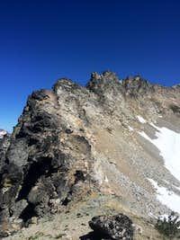 SW ridge on Maude