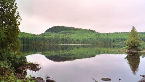From whale lake- August 2004