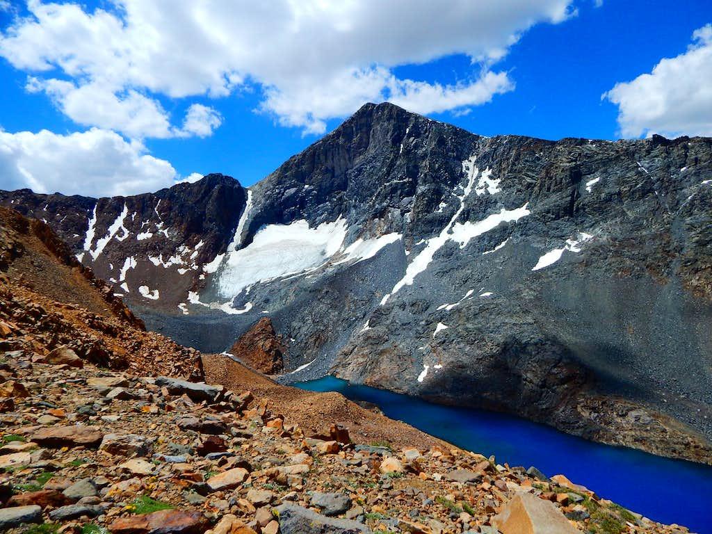 Mount Dana and Dana Lake