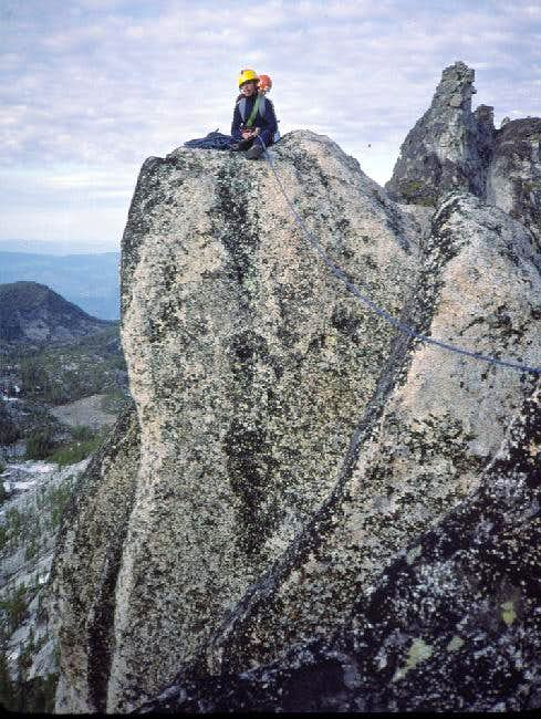 The E (true) summit. Jeff...