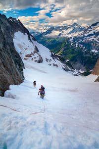 Ascending Cache glacier